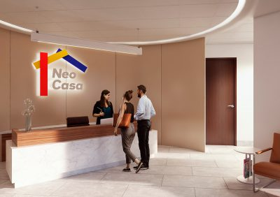Recepcion Neo Casas