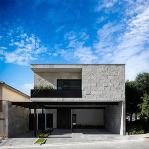 arquitectura residencial casa frente