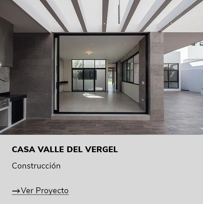 Proyecto casa Valle del Vergel